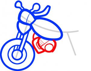 every type of motorcycle needs an engine no matter how easy it is to draw tackle the task of getting the engine and its parts all drawn in and detailed