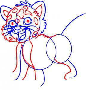 how to draw a jaguiar