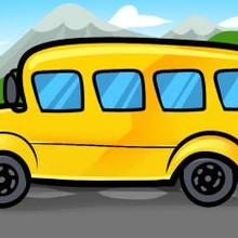 How to draw how to draw a bus for kids - Hellokids.com