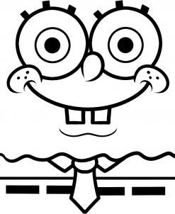 How to draw how to draw spongebob easy - Hellokids.com