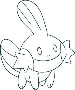 mudkip pokemon coloring pages - photo#29
