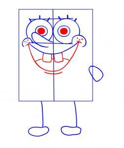 how to draw how to draw spongebob hellokids com