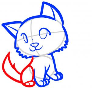 How To Draw How To Draw Wolves For Kids Hellokids Com