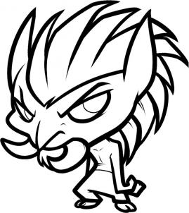 How to draw how to draw a troll for kids hellokids once you are all done cleaning up the drawing you should end up with a picture like you see here color in your new troll and thats it ccuart Gallery