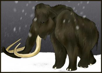 How to draw how to draw a woolly mammoth - Hellokids com