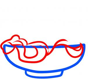 How To Draw How To Draw Noodles Hellokids Com