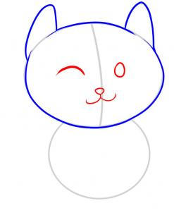 How To Draw How To Draw A Cat For Kids Hellokids Com