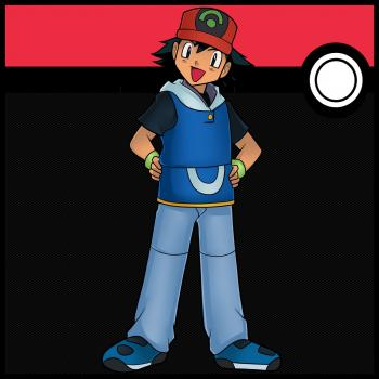 How to draw ash ketchum from pokemon - Hellokids.com How To Draw A Train For Kids Step By Step