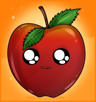 you œhow to draw an apple