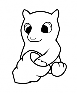 How To Draw How To Draw A Black Bear For Kids Hellokids Com