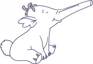 How to draw how to draw heffalump for Heffalump coloring pages