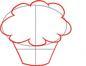 How to draw how to draw cupcakes Hellokidscom