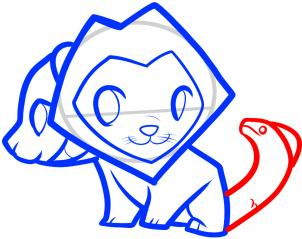 How To Draw How To Draw A Chimera For Kids Hellokids Com