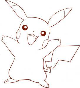 How To Draw Pokemon Pikachu Hellokids Com