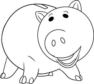 How to draw how to draw hamm