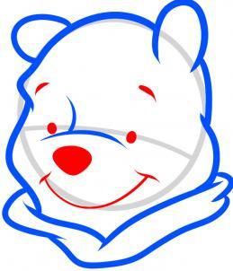 How to draw how to draw winnie the pooh easy  Hellokidscom