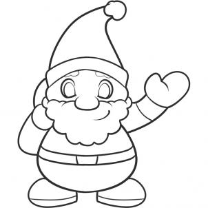 even though its not christmas time at least you know where to find a tutorial on how to draw santa for kids - Santa Pictures For Kids