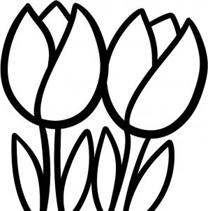 How to draw how to draw tullips for kids , Hellokids.com