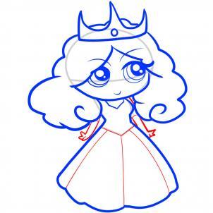 How To Draw How To Draw A Princess For Kids Hellokids Com