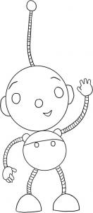 rolie polie olie coloring pages disney | How to draw how to draw rolie polie olie - Hellokids.com