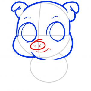 How To Draw How To Draw A Pig For Kids Hellokids Com