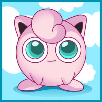 Wigglytuff coloring pages