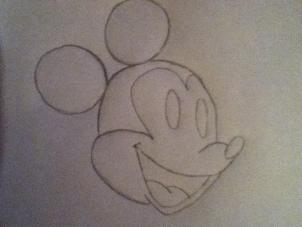 How To Draw Mickey Mouse Hellokids Com