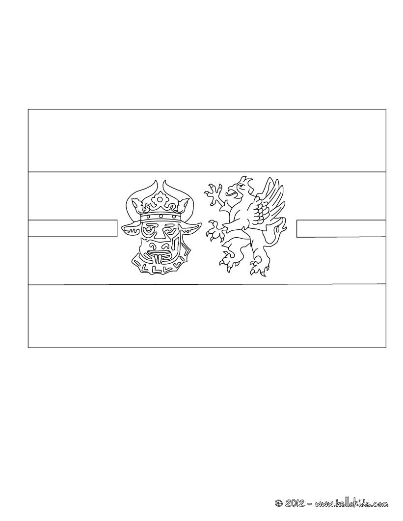 flag of mecklenburgvorpommern coloring pages  hellokids