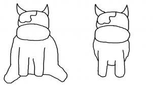 How To Draw How To Draw A Cute Cartoon Cow Hellokids Com