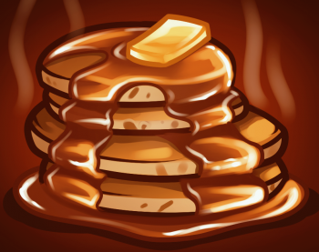 How To Draw How To Draw Pancakes Hellokids Com