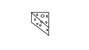 How to draw how to draw a cheese slice for How to draw cheese step by step