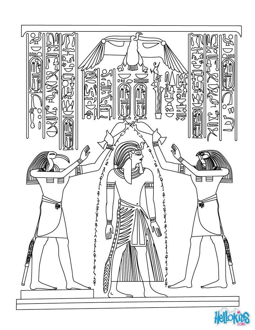 Egypt Coloring Pages Coloring Pages Printable Coloring Pages Hellokids Com