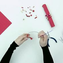 How to make a Mother's Day napkin ring video