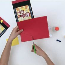 How to make a super Dad photo holder video