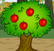How to Draw a Fruit Tree - Drawing for kids - Drawing tutorials step by step - Trees
