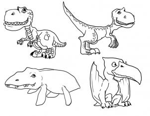How to draw how to draw cute dinosaurs cute dinosaurs hellokids step 3 ccuart Gallery