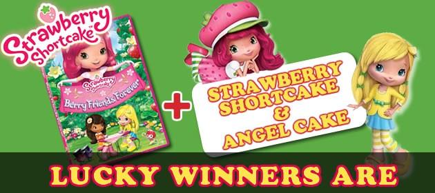 Kids online Giveaways & prizes - Strawberry Shortcake: BFF Dvds