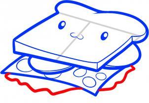 Картинка бутерброды