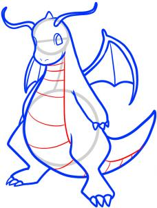 How To Draw Dragonite