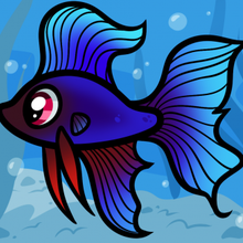How to draw how to draw a betta for kids betta fish Hellokidscom