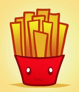 How to draw how to draw fries, fries - Hellokids.com