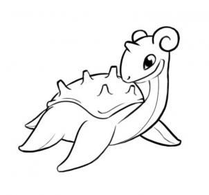 How to draw lapras - Hellokids.com