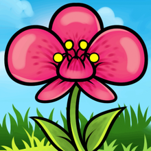 How to draw how to draw an orchid for kids - Hellokids.com