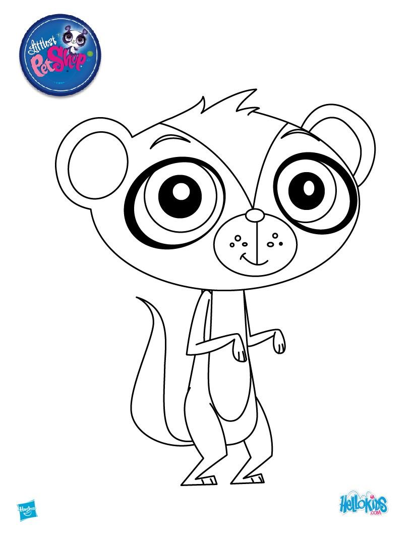littlest pet shop zoe coloring pages - sunil nevla coloring pages