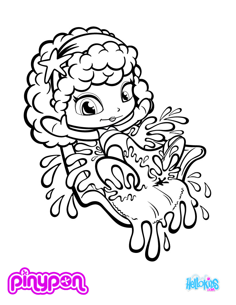 PINYPON coloring page