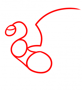 How to draw how to draw a flying dragon for kids hellokids step 1 ccuart Image collections