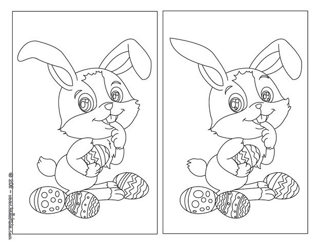 ... the differences easter spot the difference games printable easter