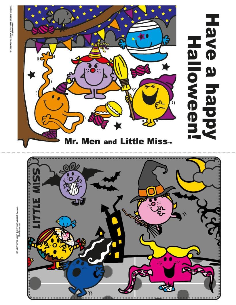 Halloween Mister men