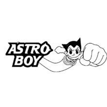 Astro Boy coloring page