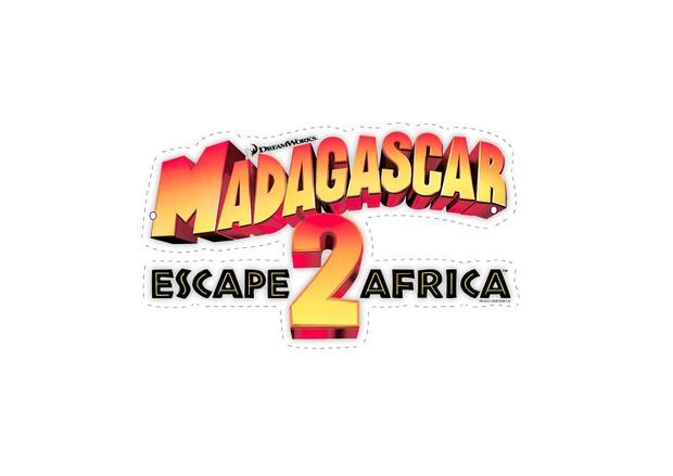 Madagascar 2 Letter Banner letter